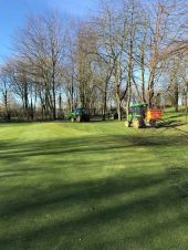 Greenkeeping im Winter